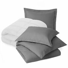 Set of Luxury Goose Down Alternative Comforter and Ultra Soft 3 PC Duvet cover