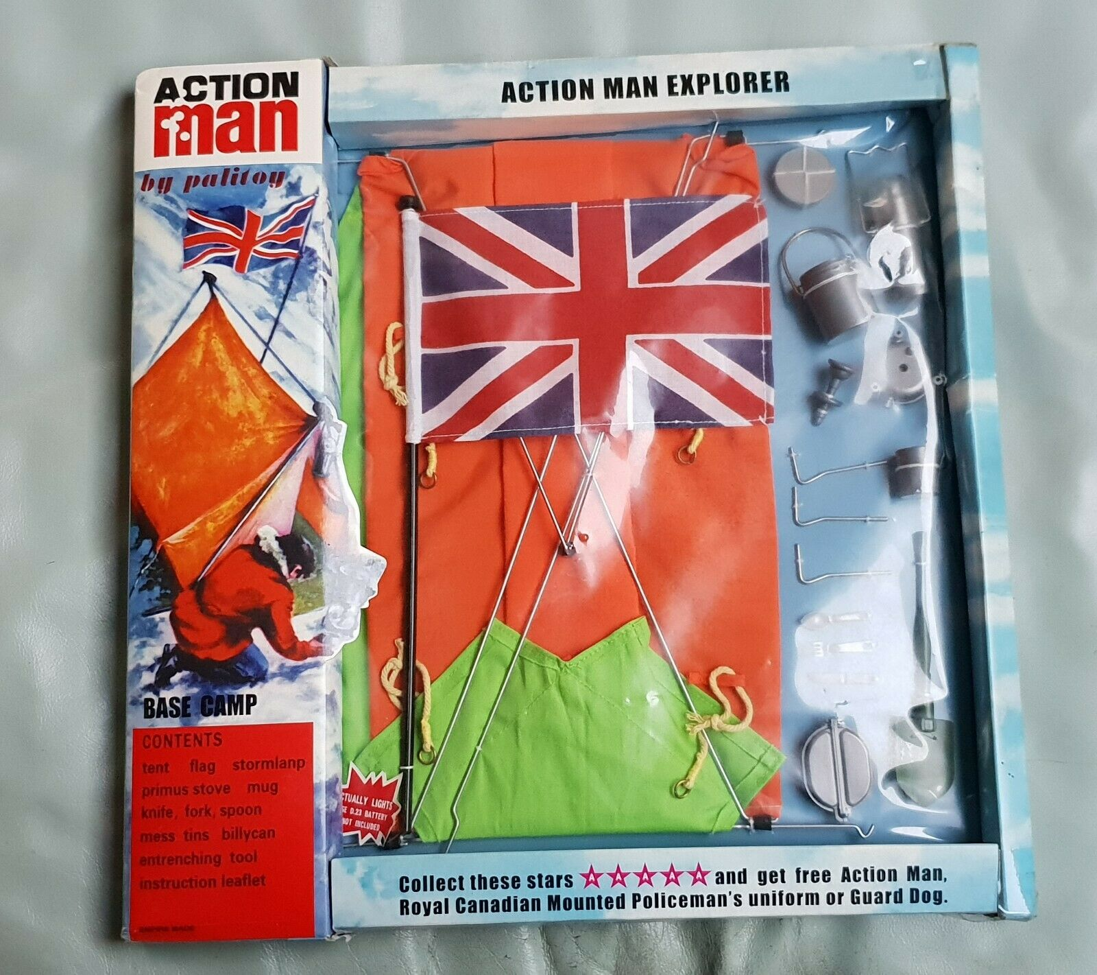 NEW  Action Man 40th. Anniversary Base Camp