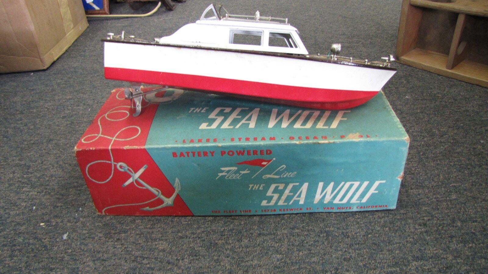 Fleet Line Speed Boats The Sea Wolf with Original Box