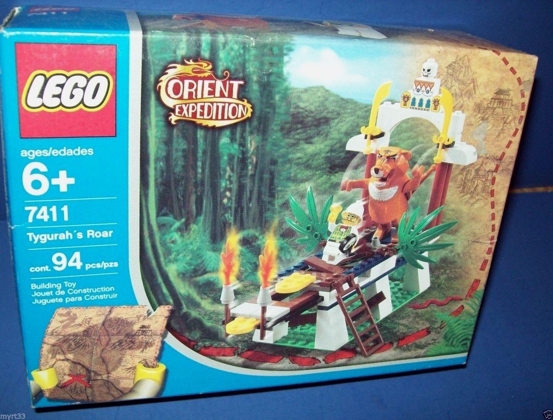 Lego 7411 Orient Expedition TYGURAH'S Rugido Jubilado Nisb Nisb Nisb a70604