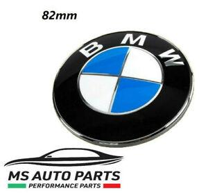 STEMMA BMW COFANO 74 MM LOGO EMBLEMA FREGIO BADGE 3M 74MM PORTELLONE NERO BLACK