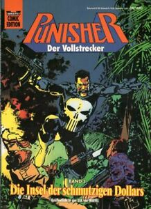 Punisher 3-isla de la sucia dollars, siguen cómic Edition 72515