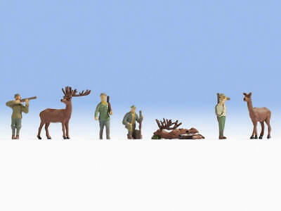 NOCH H0 15731 Jäger und Tiere OVP NEU