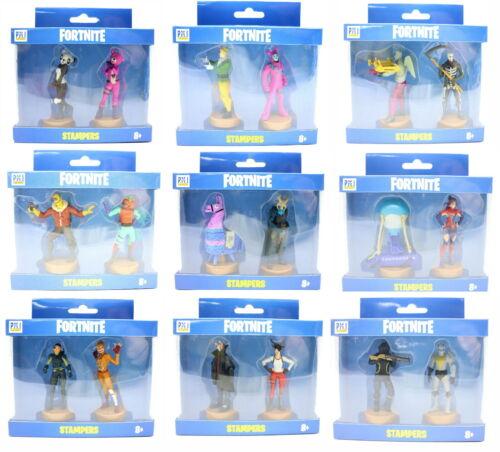Auswahl an Figuren Fortnite Stampers Series 1 Modellserie Figur mit Stempel