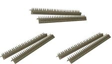 6 x 45cm Defenders Top & Side Fence Wall Prickle Spikes Pest Burglar Strips