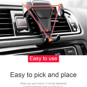 In-Car-Air-Vent-Mount-Holder-Cradle-Stand-Mobile-Phone-Holder-Gravity-GPS