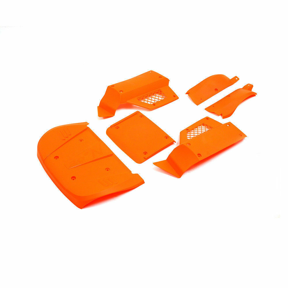Cuerpo de cáscara para Coche Color Naranja ( choque ) para 1 5 Losi 5ive T RC Car Parts