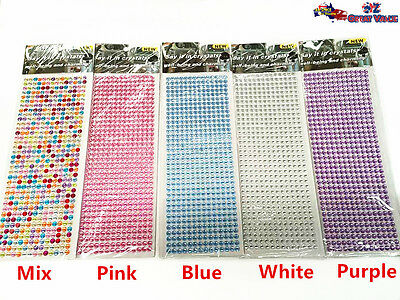 Say it in Crystal Stickers Color Variations Mobile Phone Case Design DIY OZ