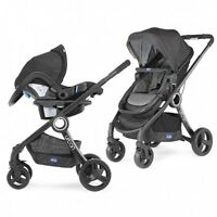 Chicco Urban Plus Duo Travel System Pushchair / Stroller - Anthracite -