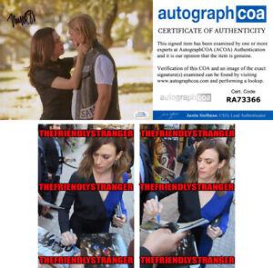 AMAGGIE-SIFF-signed-Autographed-034-SONS-OF-ANARCHY-034-8X10-Photo-PROOF-Tara-COA-ACOA