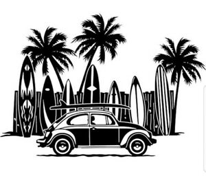 ISLAND LIFE Vinyl Decal Sticker Car Truck SUV Van Window laptop Wall home