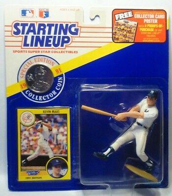 JESSE BARFIELD NEW YORK YANKEES SLU ⚾️ 1990 ROOKIE STARTING LINEUP MLB
