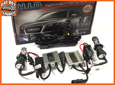 Fits Ford Cars H4 Bi-Xenon Hid Conversion Kit Set Pair Spare Part Slim 6000K