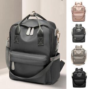 Convertible-Water-Resistant-Backpack-Rucksack-Daypack-Purse-School-Shoulder-Bag