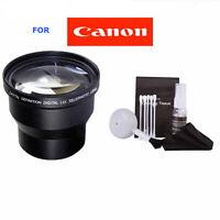 58mm 3.6x Telephoto Zoom Lens For Canon Rebel T4i T3i T3 T2i T2 T1i Xt Xti Xs 5d