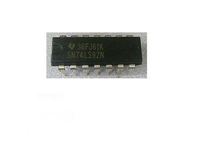 5pcs New SN74LS92N SN74LS92 74LS92N DIP14