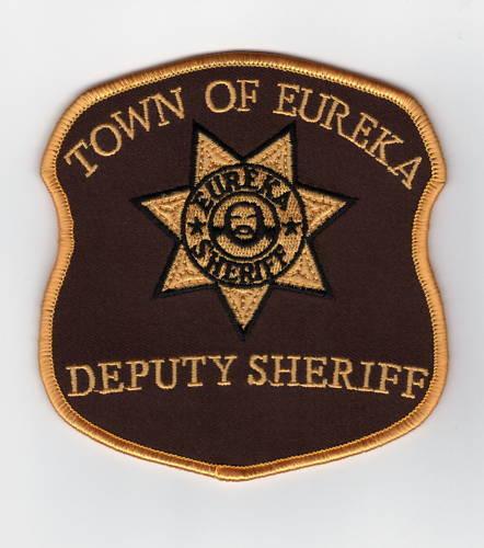 Eureka Deputy Sheriff Patch Uniform Aufnäher