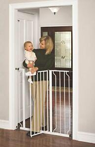Details About Safety Gate Baby Child Pet Toddler Dog Extra Tall Walk Thru  Gate Stairs Stairway