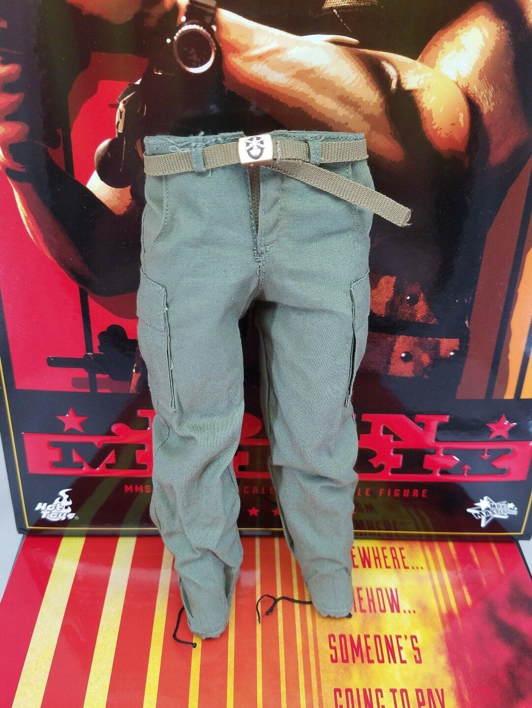 Caliente giocattoli MMS276 Comuomodo Prossoator  neroenegger military verde pants   marchio famoso