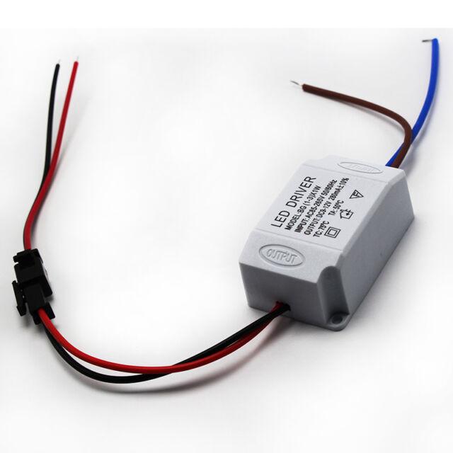 AC 85V-265V to DC 12V LED Electronic Transformer Smart Power Supply Driver 3X1W