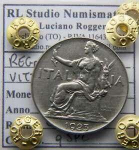 AB124-Regno d'It. - V. Em. III - 1 Lira 1923