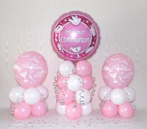 Table Balloon Decoration Display Kit 3 Pack Party Set Holy Communion BOY