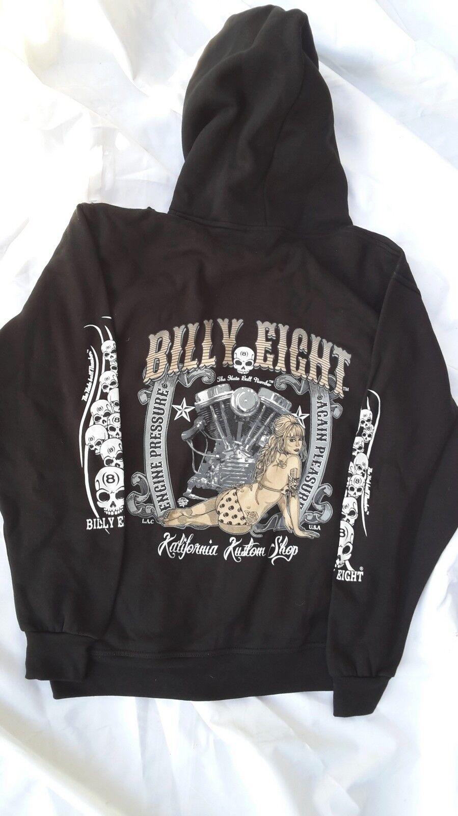 Hooded sweatshirts Billy Eight verschluss reißverschluss | Gemäßigten Kosten