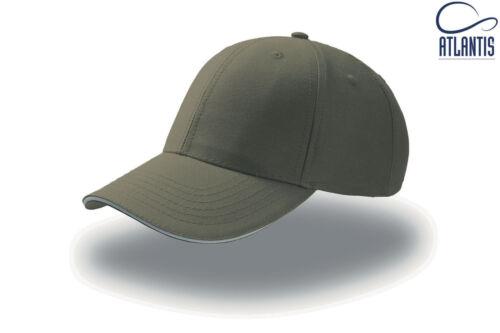 Cappello ATLANTIS berretto SPORT SANDWICH baseball cotone campioni HAT 19 colori