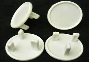 NEW - 12 CHILD BABY PROOF MAINS ELECTRICAL PLUG SOCKET SAFETY PROTECTOR COVERS