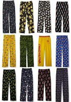 Mens Pajamas Pants Size S-m-l-xl Sleep/lounge 100% Cotton Usa Seller Fast Sh