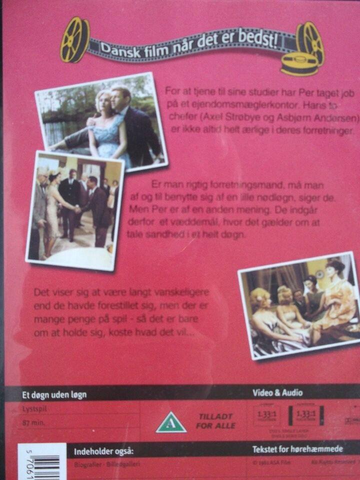Et Døgn Uden Løgn, instruktør Sven Methling, DVD