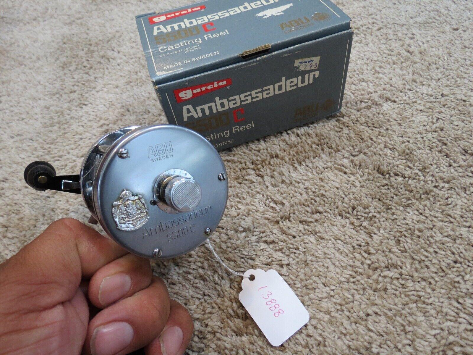 Ambassadeur 5500C High Speed fishing reel in box (lot#13888)