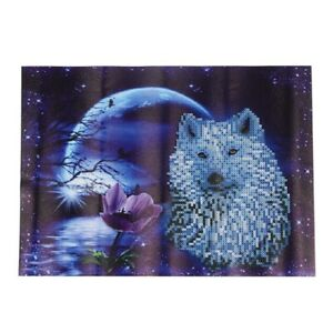 DIY-5D-Diamond-Embroidery-Painting-Cross-Stitch-Kit-Flower-Animal-Home-R3G9