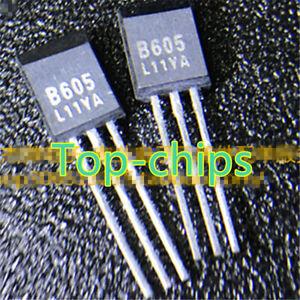 10PCS-2SB605-Encapsulation-TO-92-PNP-SILICON-TRANSISTOR
