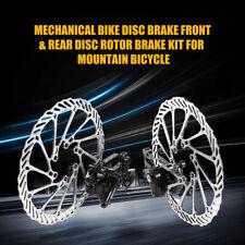 2pcs Bike Disc Brake Front Rear Disc 160 mm Rotor Brake Kit For Mountain Bicycle