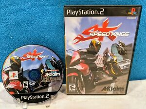 Speed Kings (Sony PlayStation 2, 2003) Tested & Working