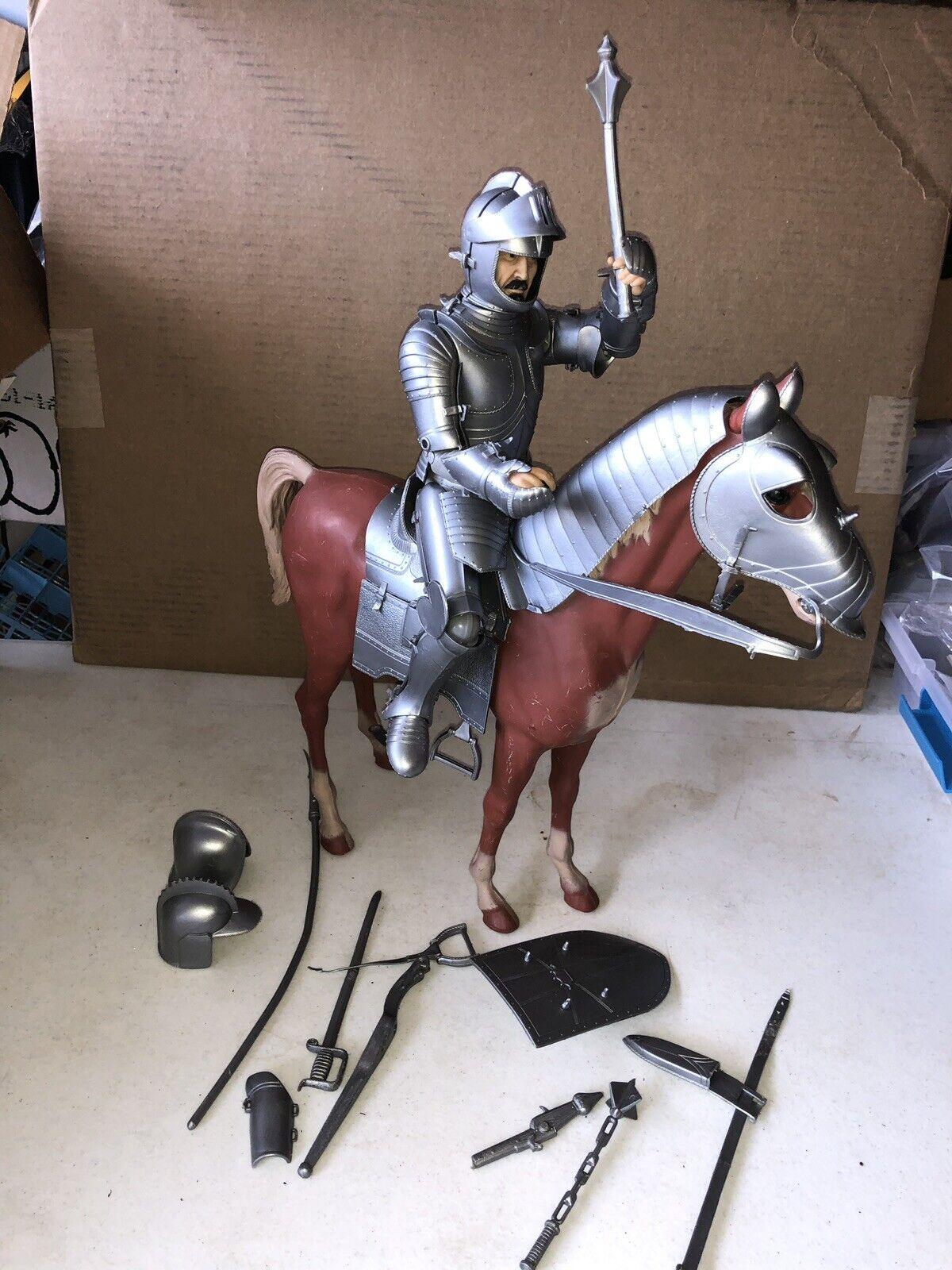 de moda Vintage Vintage Vintage 1970 Marx Plata Noble Caballero con caballo  más descuento