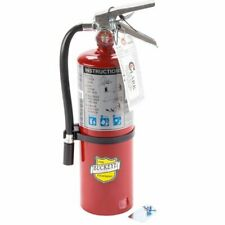 Buckeye Fire Extinguisher 5 Lb Abc Rechargeable Tagged Ul Rating 3a 40bc Red