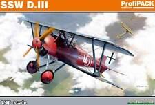 Eduard SSW D.III Siemens-Schuckert Udet Dembowsky Jasta 1:48 Modell-Bausatz kit