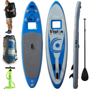 The Vision Board 11ft Inflatable Paddleboard Kit Sup