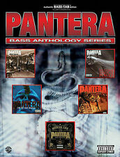 PANTERA - BASS GUITAR ANTHOLOGY TAB MUSIC SONG BOOK NEW