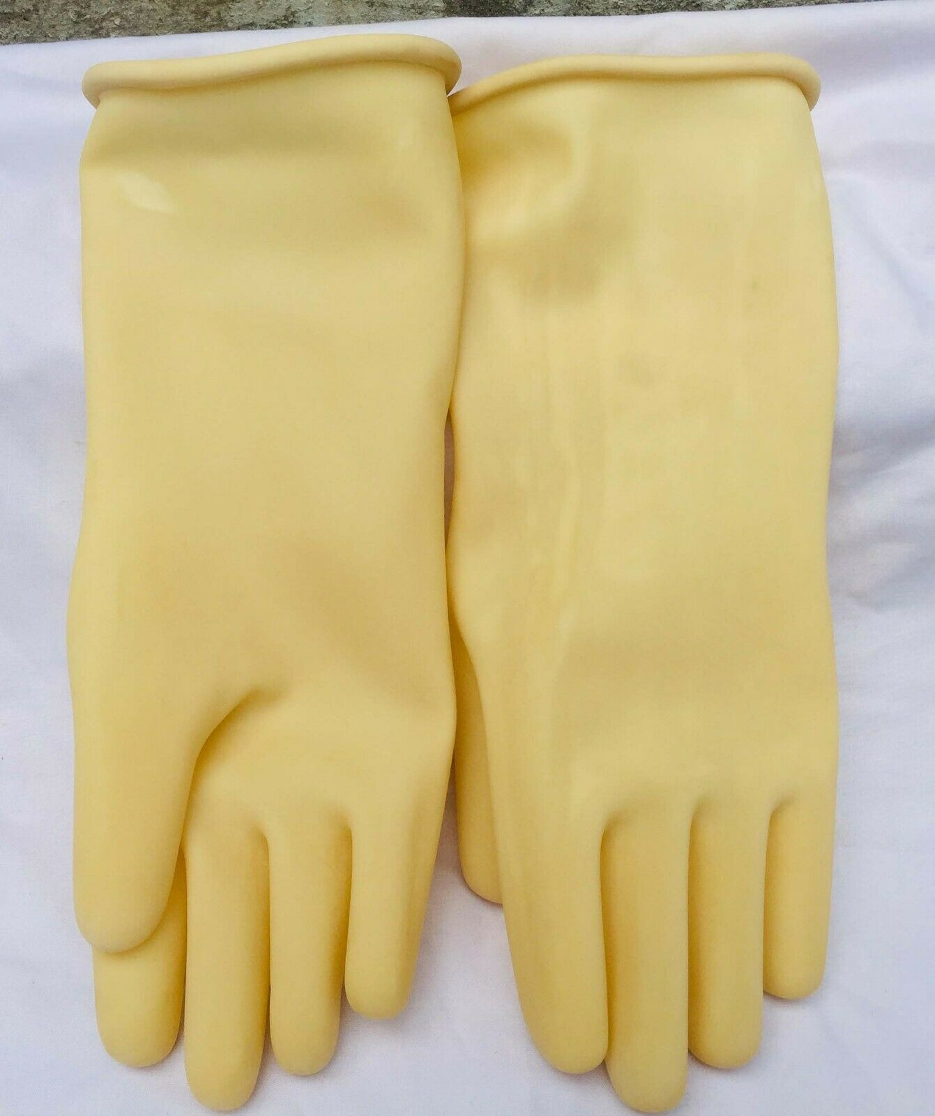 1 Pair Nylon Work Gloves Working Protective Gloves 12 Inches
