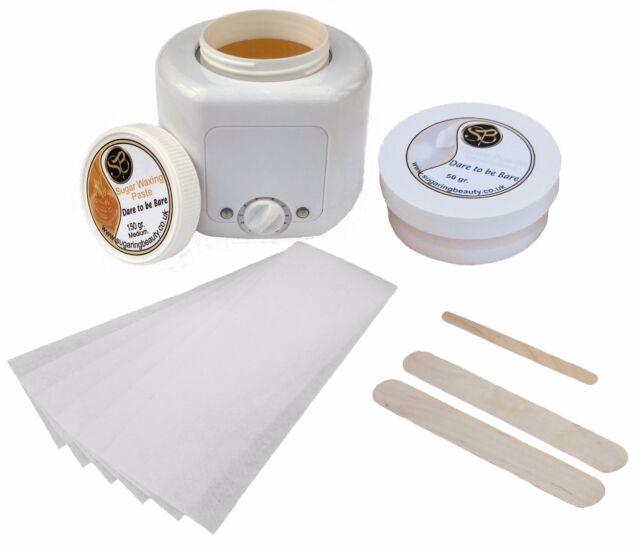 Professional 150gr Sugar / Wax Heater Plus Bikini Sugaring Hair Removal Kit
