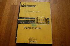 Vermeer D24x40a Navigator Parts Manual Book Horizontal Directional Drill 2002
