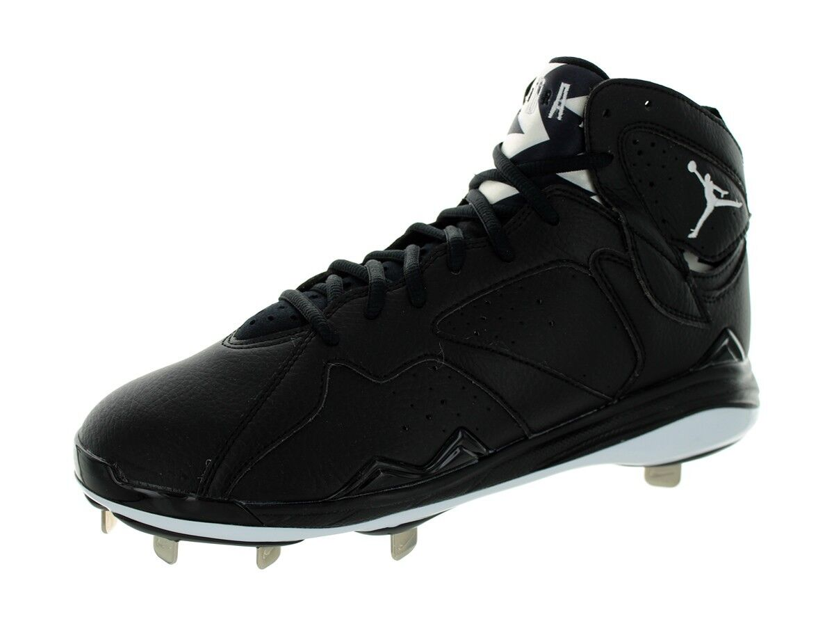 1775bbef274c Nike Air Jordan 7 Retro Retro Retro Metal Baseball Cleats Black White SZ 12  684943-. Nike Air Zoom Pegasus 35 Men New Running Shoes Mens ...