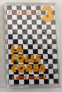 FORMULA-3-LA-FOLLE-CORSA-E-ALTRI-SUCCESSI-Musicassetta-Sigillata-MC-K7