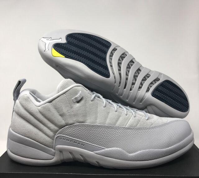 new styles 2ed5d dc7b4 Nike Air Jordan 12 Low Retro Men's Sz 17 Basketball Shoes Wolf Grey 308317  002