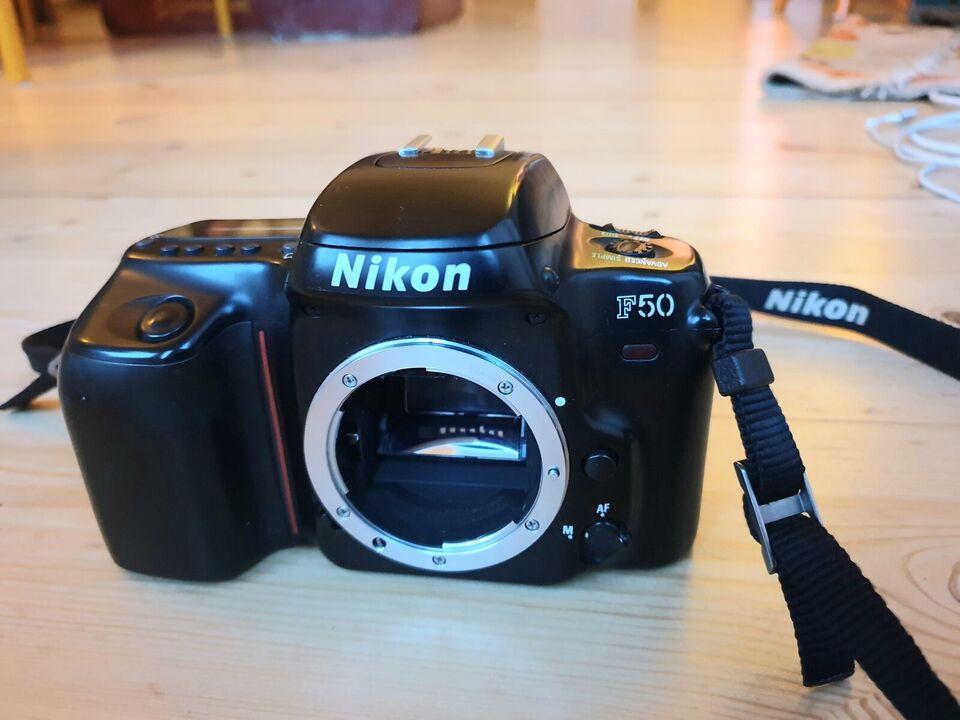 Nikon, F50, spejlrefleks