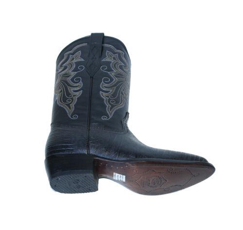 Men/'s Lizard PRINT Cowboy Boots Genuine Leather Style# Lizard 512