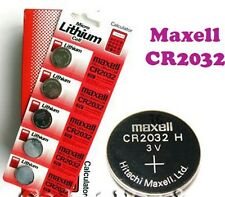 (20 PCS) PACK CR2032 MAXELL BATTERY 3V LITHIUM BUTTON COIN CELL MADE IN JAPAN